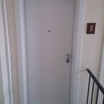Protuprovalna vrata VIGHI UNIX 3c, bijela sa futer štokom