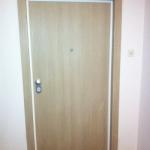 Protuprovalna vrata VIGHI UNIX 3c, cappuccino