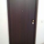 Protuprovalna vrata ALFA, wenge, bronca dvodijelna