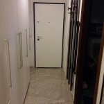 Protuprovalna vrata VIGHI UNIX 3c - bijela sa crnim štokom