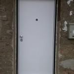 Protuprovalna vrata VIGHI UNIX 3c - bijeli panel 12mm otporan na sve vremenske uvjete2